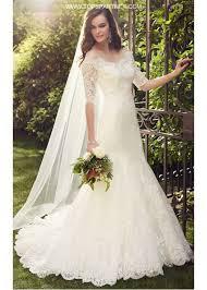vintage lace wedding dress 3 4 sleeves mermaid vintage lace wedding dresses