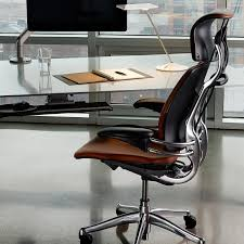 desk chair with headrest freedom task chair with headrest ergonomic seating from humanscale