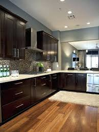 white kitchen cabinets dark wood floors island subscribed me