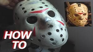Boys Jason Halloween Costume Easy Jason Voorhees Mask Friday 13th 3