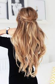 25 unique curled hair with braid ideas on pinterest hair styles