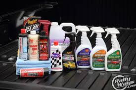 Car Interior Deep Cleaning Awesome Bunch Of The Best Car Detailing Products Rallyways