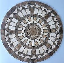 Tile Medallion Backsplash by Umber Marble Mosaic Tile Medallion Floor Wall Backsplash Deco