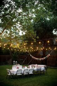 Backyard Birthday Ideas 20 Best Backyard Dinner Party Images On Pinterest Dinner Parties