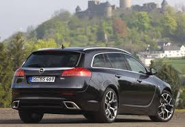 view of opel insignia sports tourer 2 8 v6 turbo 4x4 photos
