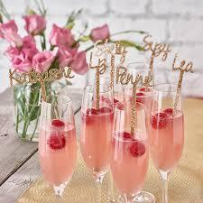 personalised swizzle stick drink stirrer cocktail sticks birthday