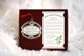 merry from heaven pewter ornament with bookmark