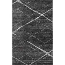 6 X 4 Area Rug Nuloom Thigpen Grey 4 Ft X 6 Ft Area Rug Bdsm04b 406 The