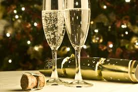 new years chagne glasses celebrate new year s with us the purple café wine bar