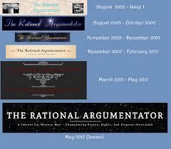 history u2013 the rational argumentator