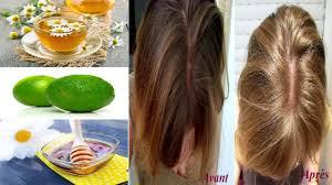 comment d oucher un ier de cuisine naturellement comment éclaircir les cheveux naturellement remèdes maison