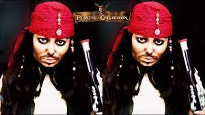 captain jack sparrow makeup tutorial pirates of the caribbean