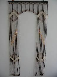 Bamboo Door Curtains Glamorous Wooden Beaded Door Curtains Gallery Ideas House Design