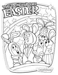 veggie tales easter veggie tales easter coloring pages color bros