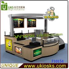 customized fast food kiosk indoor fast food kiosk wooden fast food