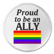 Hetero Flag Amazon Com Proud To Be An Ally Lgbt Pride Flag 3