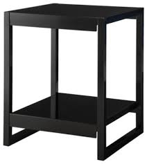 Modern Black Nightstands Terrific Modern Black Nightstands Calhoun Nighstand Black Modern