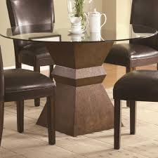 Pedestal Bases For Dining Tables Saarinen Table Oval Oblong Inspirations With Charming Dining