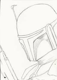 mandalorian rough sketch by oswulf on deviantart