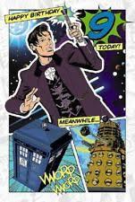doctor who birthday card ebay