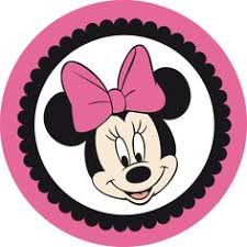 etiqueta redonda minnie mouse lety minnie