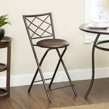 Linon Home Decor Bar Stools by Diamond X Back Folding 24