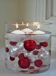 christmas candle centerpiece amazon com