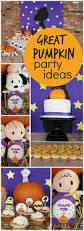 Halloween Birthday Party Ideas Pinterest by 16 Best Great Pumpkin Charlie Brown Party Ideas Peanuts Party