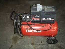 Craftsman 3 Gallon Air Compressor Craftsman 12 Gallon 2 1 2 Hp Air Compressor Advanced Sales