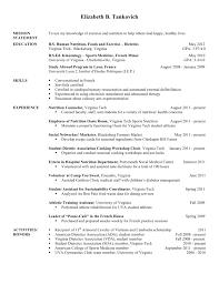 Sample Dietitian Resume by Resume Ultrasound Tech Resume