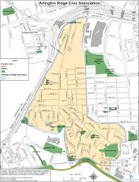 Neighborhood Map Neighborhood Map Arlington Ridge Civic Association