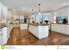 wood top kitchen island kitchen with wood top island stock image image 15757511