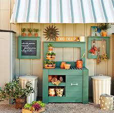 Outdoor Potting Bench With Sink 10 Potting Bench Ideas With Free Building Plans Tuesday Ten