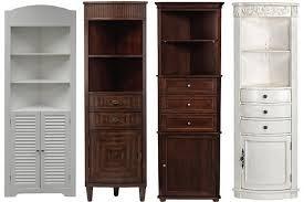 Bathroom Corner Cabinet Storage Impressive Chic Bathroom Corner Cabinet Cabinets For On Of