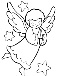 free coloring pages christmas angel christmas coloring pages