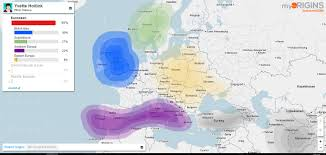Where Is Holland On The Map What Dutch Dna Looks Like