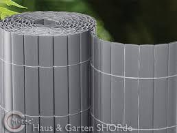 sichtschutz balkon grau kunststoffmatten balkonsichtschutz pvc farbenfrohe balkonverkleidung