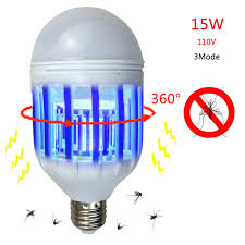 bug repellent light bulbs 1pc 220v 110v 15w 2 in 1 led mosquito insect fly killer l bulb