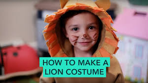 lion costume how to make a lion costume easy diy care