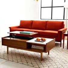 west elm reeve coffee table mid century side table mid century side table with 9 tiles steel