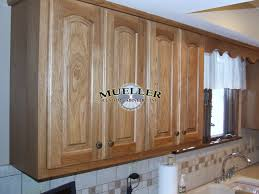 Stained Hickory Cabinets Hickory U2013 Raised Panel U2013 Fruitwood Stain Mueller Portfolio