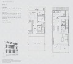 belgravia villas strata landed house floor plans