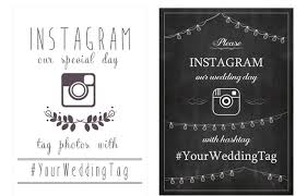 wedding instagram 17 ways to collect your guests wedding photos