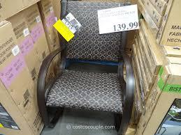 Wicker Patio Furniture Costco - agio international aluminum woven rocker