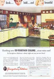 vintage metal kitchen cabinets 1955 youngstown steel kitchen cabinets original vintage ad