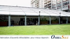 Veranda Pour Terrasse Great Outdoor Project For A Terrace Veranda In Montréal Awnings
