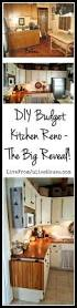 diy budget kitchen reno the big reveal live from julie s house diy cottage kichen reno on a budget this 10 x10 room is jam
