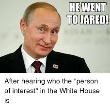 He Went To Jared Meme - he went to jared after hearing who the person of interest in the