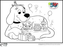 coloring page of a big dog clifford coloring pages coloring page coloring pages with wallpapers