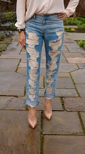 Forever 21 Ripped Jeans Very Ripped Boyfriend Jeans Jeans To